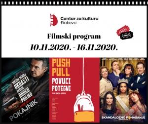 [TJEDNI FILMSKI PROGRAM] Pogledajte koji vas filmovi očekuju u Centru za kulturu