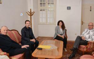 Pravnici mariborskog Metropolitanskog crkvenog sudišta u posjetu MSPS-u u Đakovu