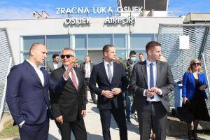 Od 15. studenoga zračna linija Osijek-München svakog ponedjeljka i petka