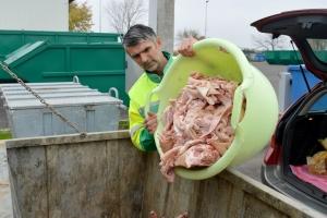Rješenje za otpad od svinjokolje u spremnicima na odlagalištu Vitika