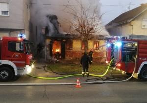 [VIDEO] Požar progutao kuću 83-godišnje sugrađanke